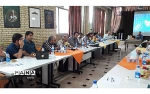 جلسه تخصصی مدیران هنرستان های دولتی و غیردولتی منطقه7