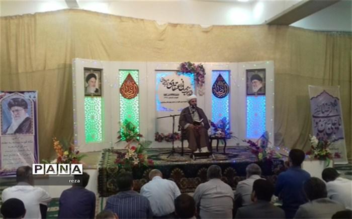 میزبانی 3شب از طرح تقویت مبانی اعتقادی و شبهه زدایی دینی توسط اداره کل آموزش و پرورش استان