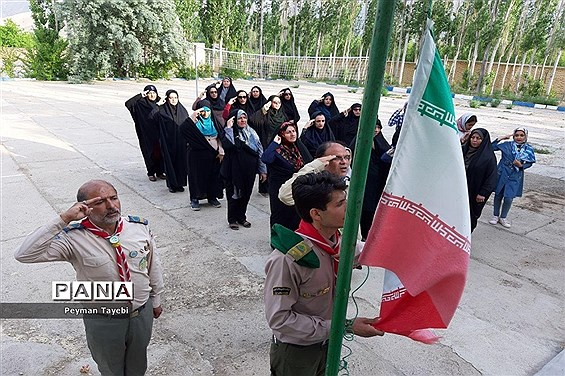 اردوی دانش آموزان پیشتاز شهرستان سمنان