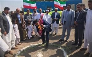 کلنگ ساخت 2 پروژه آموزشی در شهرستان دلگان به زمین زده شد