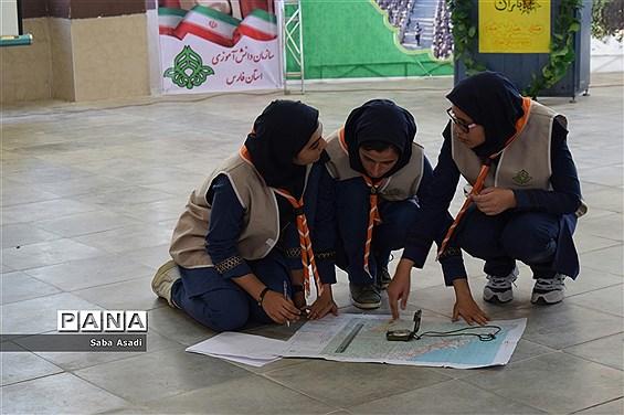 مراسم اختتامیه اردوی استانی دختران پیشتاز سازمان دانشآموزی فارس