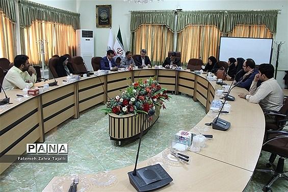جلسه شورای برنامه ریزی سازمان دانشآموزی استان سمنان
