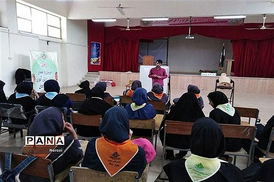 اردوی دانشآموزان پیشتاز شهرستان آرادان