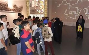 برگزاری اردوی بازدیددانش آموزان شهر قدس از باغ موزه دفاع مقدس