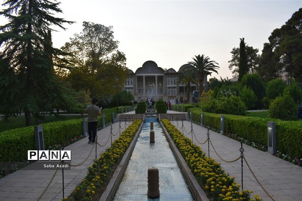 باغ ارم زیبایی چهار فصل شیراز