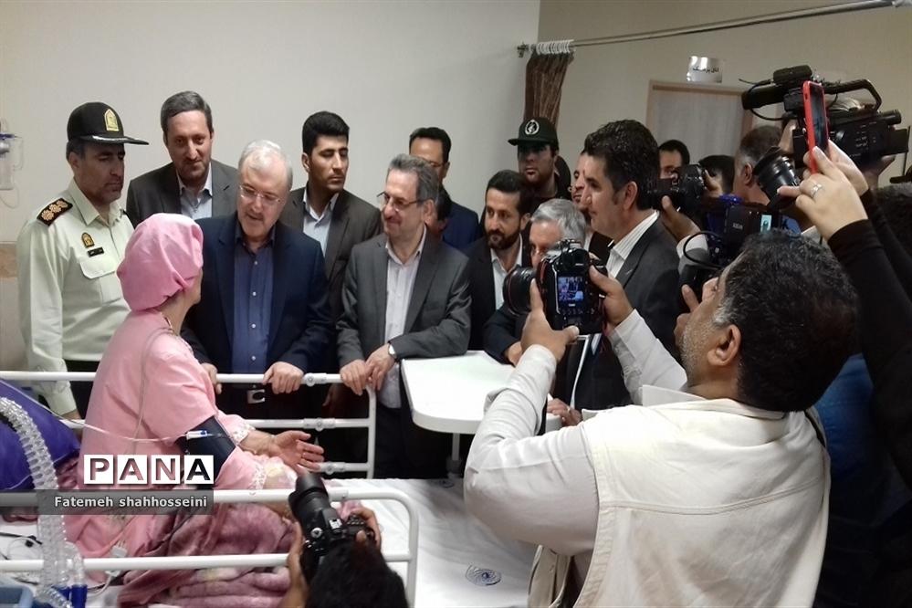 سفر وزیر بهداشت، درمان و آموزش پزشکی کشور به شهرستان فیروزکوه