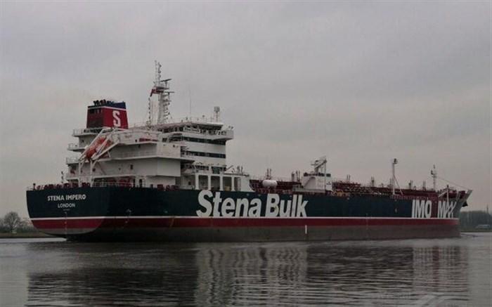 روابط عمومی نیروی دریایی سپاه اعلام کرد؛ توقیف یک فروند  نفتکش انگلیسی در تنگه هرمز