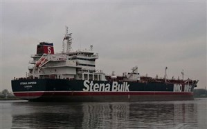 خداحافظی نفتکش انگلیسی با بندرعباس بعد از 70 روز