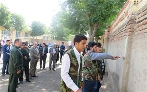 برگزاری طرح هجرت3 در مدارس ناحیه2 اردبیل