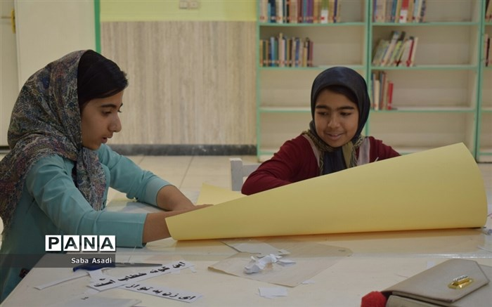 کلاس های اوقات فراغت کانون پرورش فکری کودکان ونوجوانان در گله دار