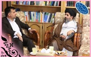 دیدار رئیس مجمع نمایندگان اصفهان با مدیر کل آموزش و پرورش استان