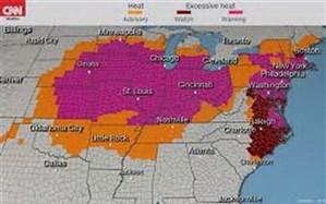 گرما در آمریکا جان ۶ نفر را گرفت