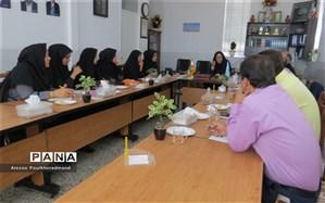 نشست مدیران و معاونین سمپاد با رئیس اداره استعدادهای درخشان
