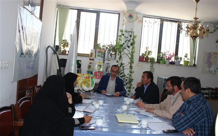 جلسه هماهنگی مربیان نهمین اردوی ملی پیشتازان سازمان دانش آموزی در اردبیل