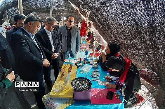 آیین افتتاحیه جشنواره نوجوان خوارزمی (مرحله استانی) و بازارچه کارآفرینی-2