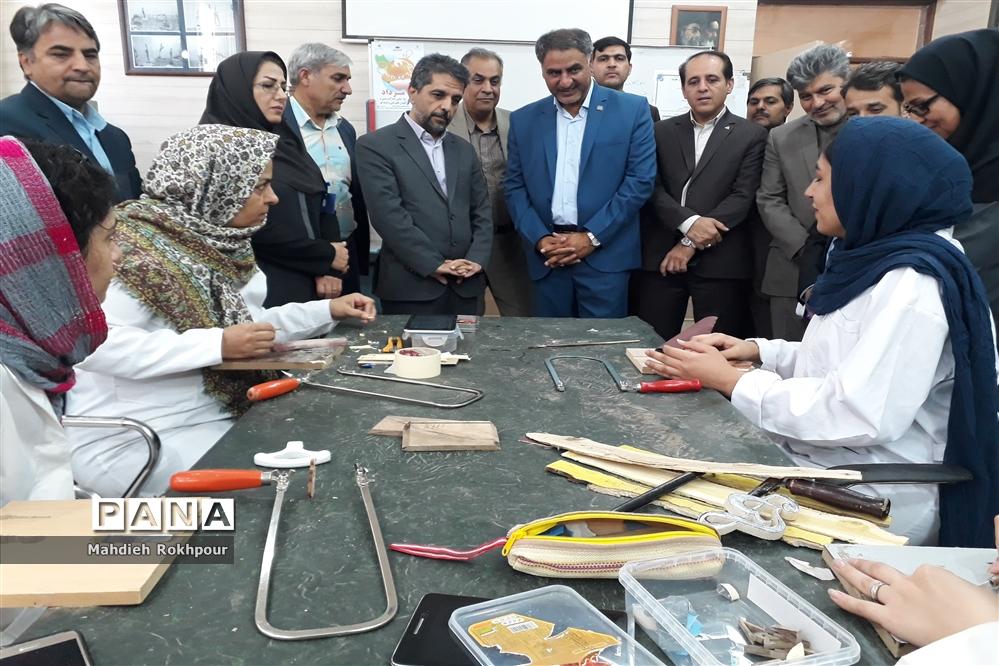 افتتاح نمایشگاه «مهارت، اشتغال و تولید ملی» در بیرجند