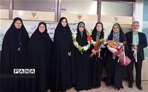 کسب مقامهای اول و پنجم کشوری در مسابقات قرآنی توسط دانش آموزان دبیرستان فرزانگان حکیم زاده