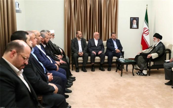 رهبر انقلاب و حماس