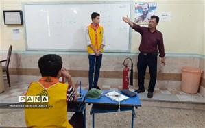 شرکت 14 دانش آموز پیشتاز در پیش اردوی آمادگی دانش آموزان ناحیه یک اهواز