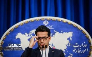 موسوی: تاکنون فرانسه پیشنهاد قطعی برای جبران تعهدات اروپا نداده است