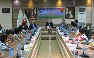برگزاری مراسم افتتاحیه طرح مدرسه تابستانی نشاط و تعالی در شهرری