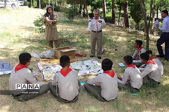 پیش اردو ی ملی پیشتازان پسر استان کردستان