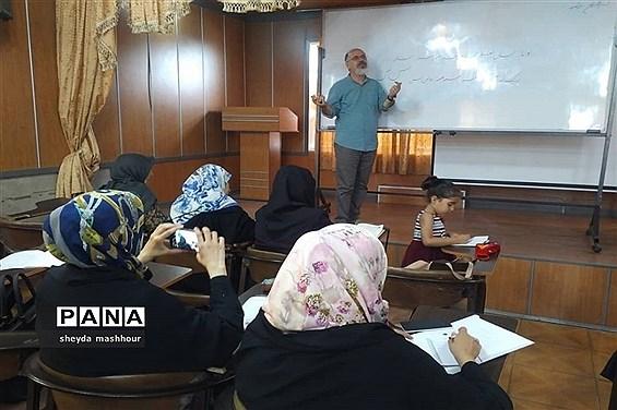 برگزاری کارگاه آموزش خوشویسی آموزش و پرورش ناحیه یک ری