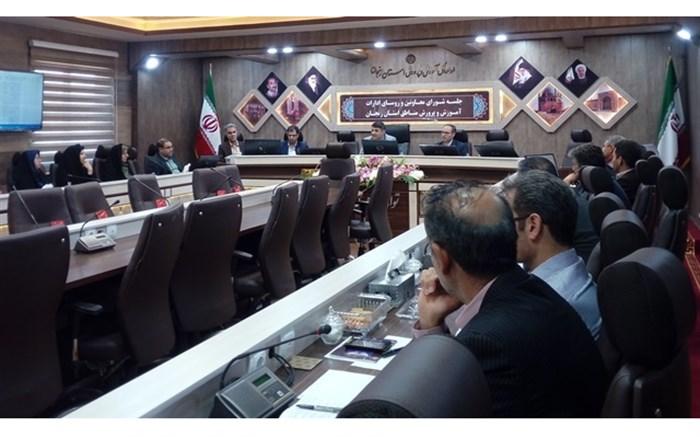 جلسه بررسی برنامه های اجرایی