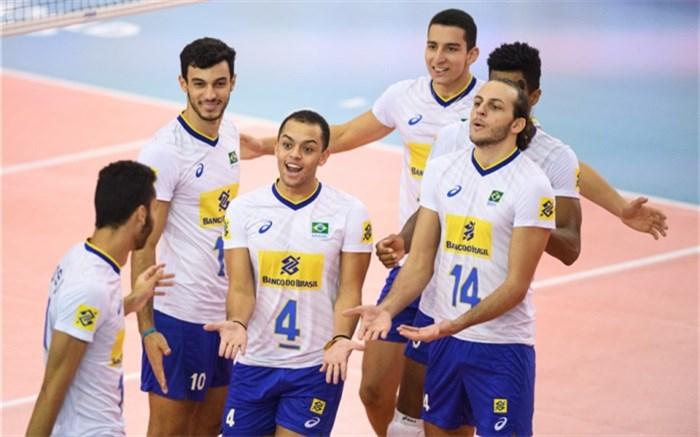 والیبال جوانان برزیل