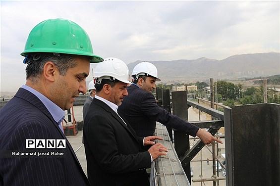بازدید اعضای شورای اسلامی شهر قدس از پروژه  بیمارستان 160 تختخوابی