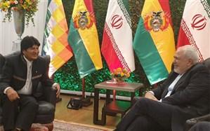ظریف با رئیس جمهور بولیوی دیدار و گفتگو کرد