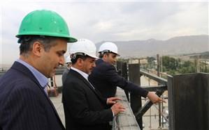 بازدید اعضای شورای اسلامی شهرقدس از پروژه  بیمارستان160تختخوابی