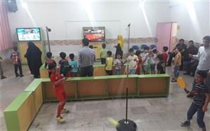 افتتاح دو مجموعه تفریحی در کانون شهید رجایی آموزش و پرورش ناحیه دو شهر ری