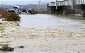 انسداد ۲ مسیر در جنوب سیستان و بلوچستان به دلیل سیلاب