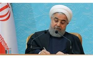 روحانی انتصاب رئیس جدید بنیاد مستضعفان را تبریک گفت