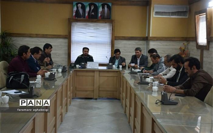 جلسه کمیته پشتیبانی بسیج