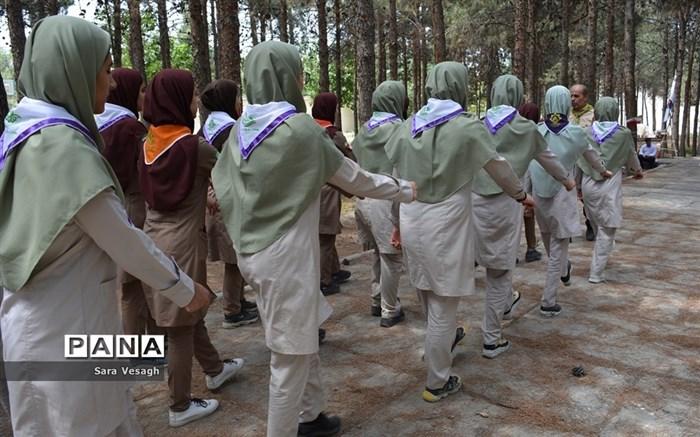پیش اردوی ملی دختران پیشتاز شهرستانهای استان تهران در شهریار