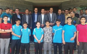 بازدید مدیرکل آموزش و پرورش استان همدان از محل برگزاری مسابقات ورزشی دانش آموزان در رامسر