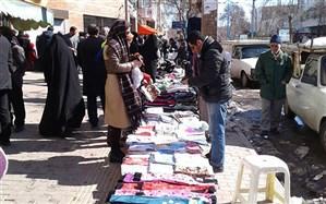 فعالیت دستفروشان تهران آزاد شد