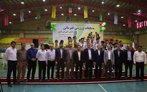 معرفی قهرمانان مسابقات ورزش دانشآموزان کشور در اردبیل و گیلان