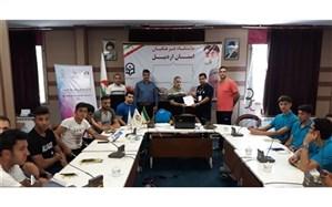 برگزاری کارگاه سه روزه ارزشهای المپیک در اردبیل
