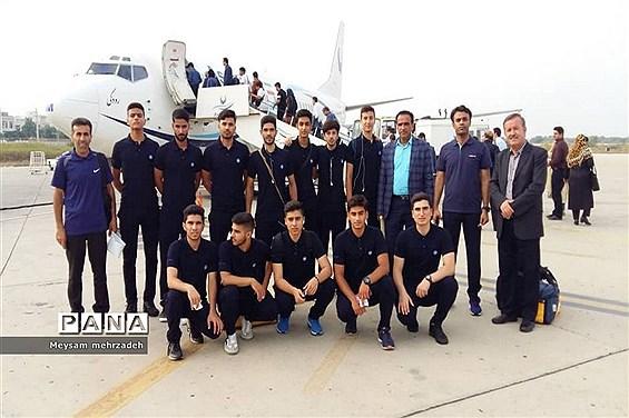 اعزام کاروان ورزشى دانشآموزان استان بوشهر به سى و ششمین دوره مسابقات قهرمانى دانشآموزان کشور