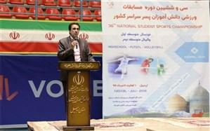 دبیر فدراسیون ورزش دانشآموزی: 33 هزار معلم تربیتبدنی استعداد دانشآموزان را رصد میکنند