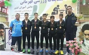 دانش آموزان ورزشکار استان خراسان رضوی خوش درخشیدند