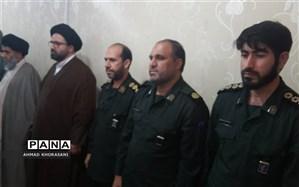 فرمانده جدید سپاه ناحیه مقاومت شهرستان لالی معارفه شد