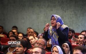 درخواست جمعی از منتخبان  فرهنگیان در  مرحله اول انتخابات شورای عالی آموزش و پرورش  برای معرفی حسینی به مجلس