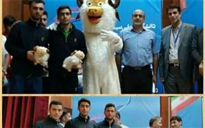 افتخار آفرینی دانشجو معلمان دانشگاه فرهنگیان استان اصفهان  در المپیاد ورزشی دانشجویان کشور