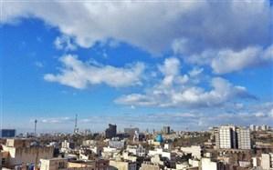 افزایش غلظت آلاینده اُزن در برخی مناطق تهران