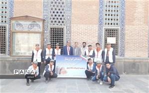 بازدید دانش آموزان پیشتازاز مجموعه جهانی شیخ صفی الدین اردبیلی