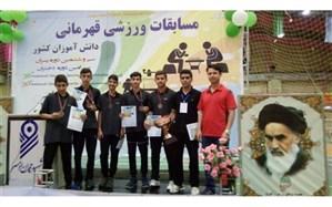 درخشش تیم بدمینتون دانش آموزی استان زنجان در مسابقات قهرمانی کشور